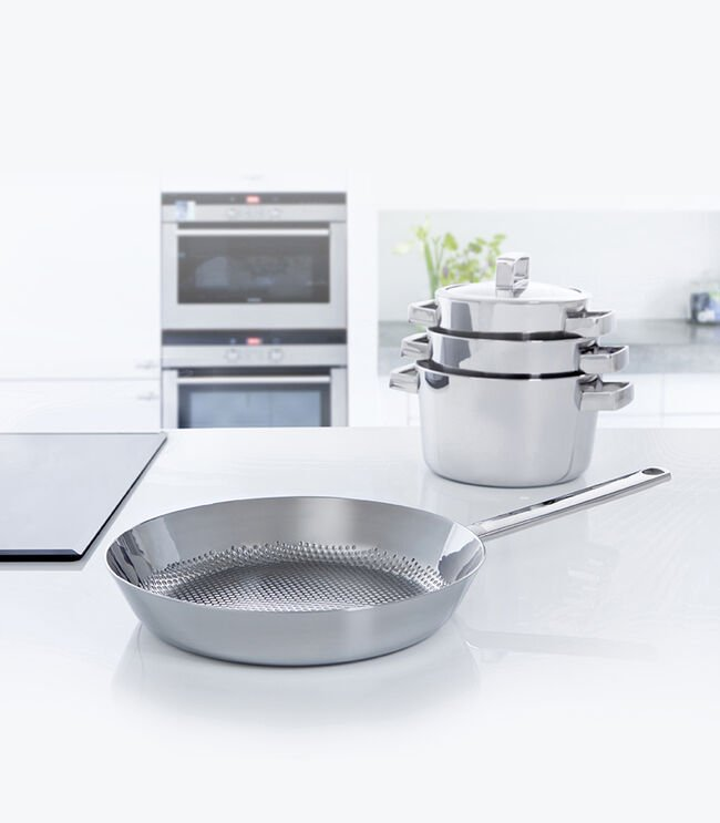 Conical Deluxe wok 30 cm